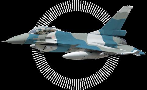 F-16A de Lockheed Martin